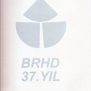 BRHD 37. yil buyuk sergisi CSM iç kapak