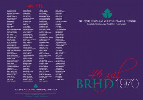 BRHD 47. YIL BÜYÜK SERGİSİ (2016)
