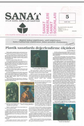 BRHD aylık sanat gazetesi