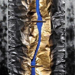 Açmayan Bahar-Tuval ÜzerineKolaj-Asamblaj,175x80x9cm,2018