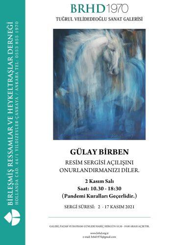 Gülay Birsen sergi afişi
