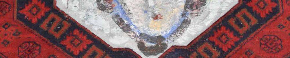 2020, Halı Üzerine Yağlı Boya, 200x115 cm